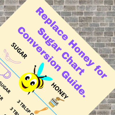 Honey for Sugar Chart Printable