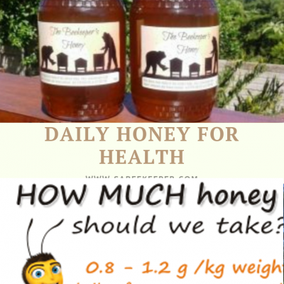 Daily Honey for Health