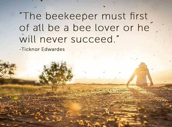 a motto of the beekeeper