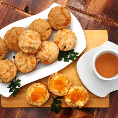 Sugar Free Cheese Scones