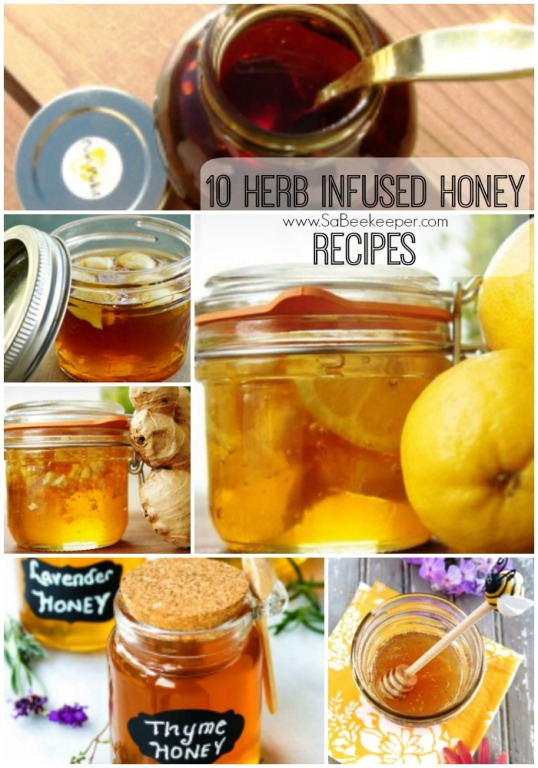recipes made with honey as an ingredient