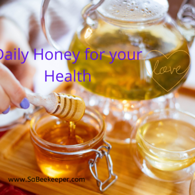 Daily Honey for Health Printable