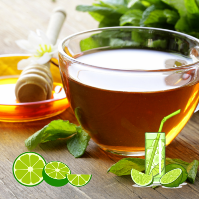Easy Healthy Honey and Lime Juice